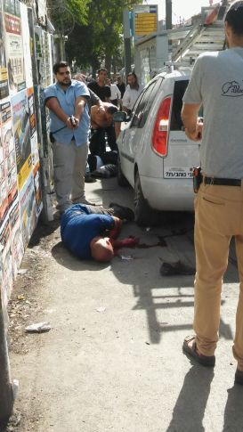 Terrorist on Malchei Yisrael St., Jerusalem
