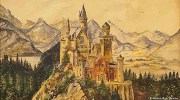 This painting of Neuschwanstein Castle was sold off to a bidder in China for 100,000 euros ($111,000) in 2015