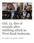 The Times of Israel's bland, indifferent and dispassionate headline.