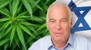 Uri Ariel with cannabis