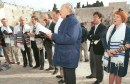 Reform Jews praying at the Kotel.  Archive: January 26, 1997