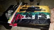Weapons captured Wednesday in Azzun