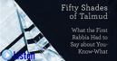 rejuvenation - 50 shades of talmud