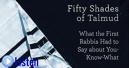 rejuvenation - 50 shades of talmud