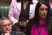 British MP Naz Shah speaks in Commons.