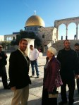 Yehuda Glick ascended the Temple Mount on March 1, 2016, for the first time in a year and a half.