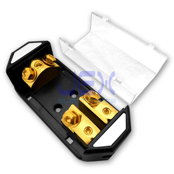 Jex Electronics LLC \u003e Fuse Holders \u003e 2-Way/2X ANL In-Line Fuse