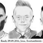 """""""Wer kennt diese Täter?"""" – Polizei sucht Hinweise zu Raub und Fundunterschlagung in Jena"""