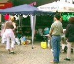 Radio OKJ Liveübertragung vom historischen Markt in Jena im Jahre 2003. - Foto © MediaPool Jena