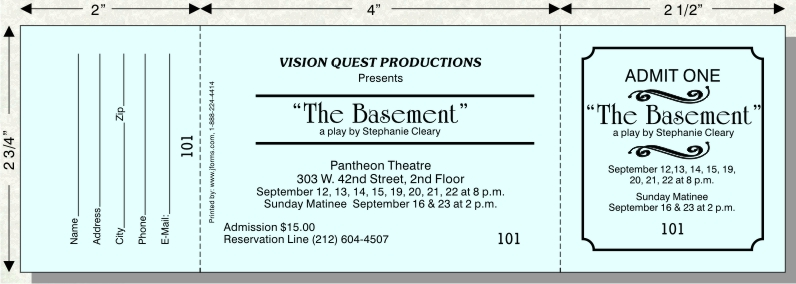 Raffle Ticket Size A by jforms u2013 Perforated and Numbered - numbered tickets template
