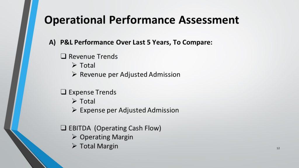 Operational Performance Assessment JH Enterprises