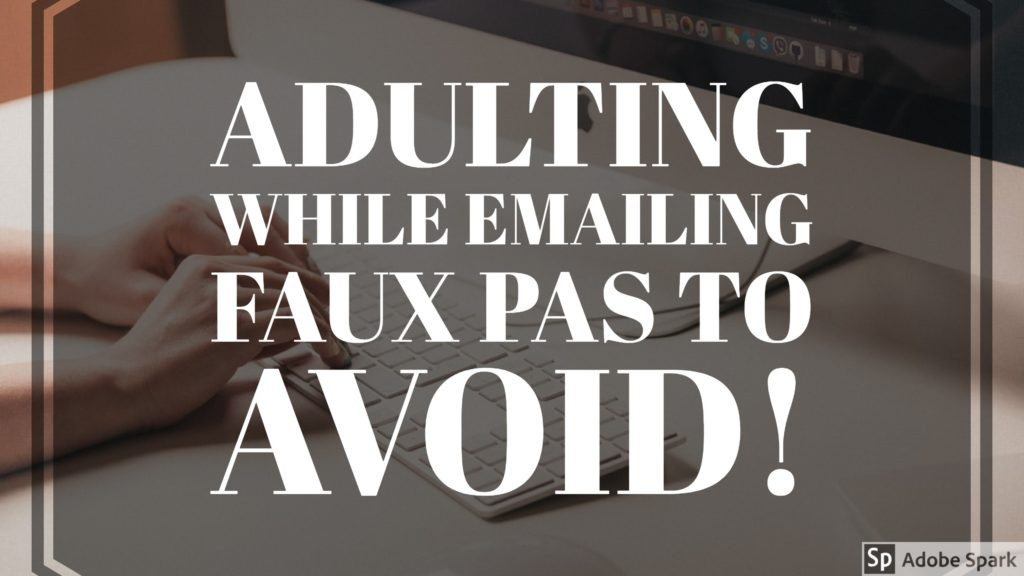 Adulting While Emailing You Can Do It! - Johnson  Hill - emailing photo