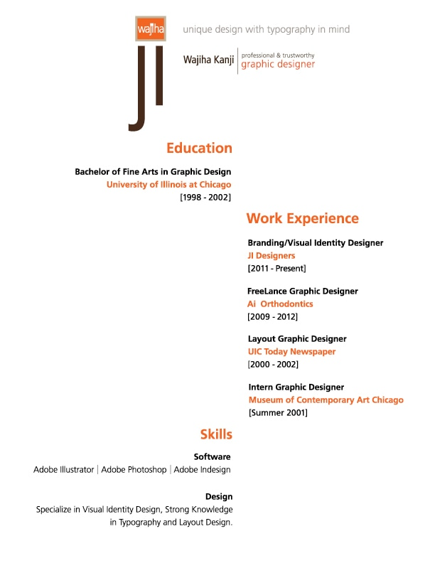 JI Designers- Resume - DESIGNING STRONG AND AUTHENTIC VISUAL BRAND
