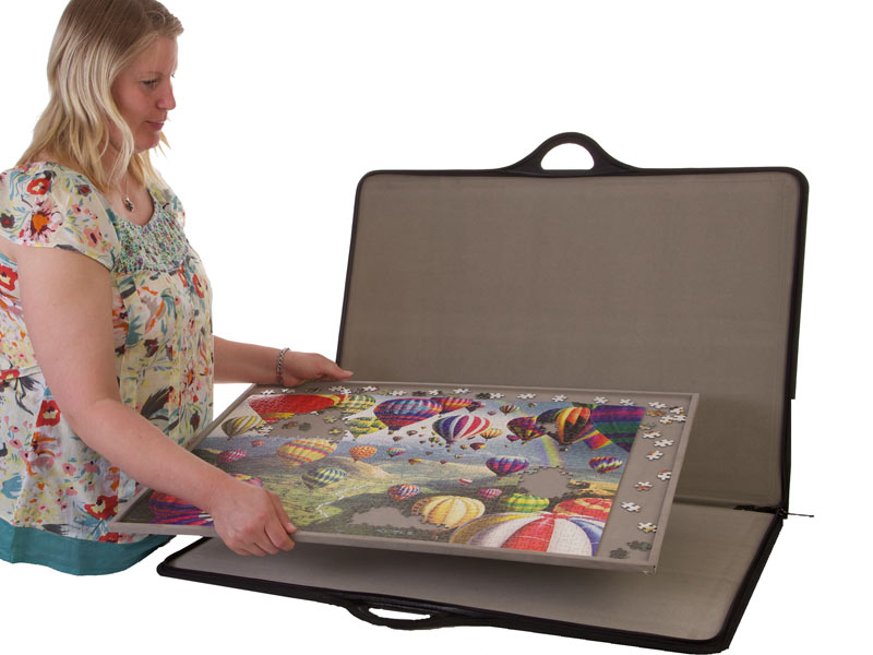 Jigsort 1000 From Jigthings Puzzle Caddy Carrier And Holder
