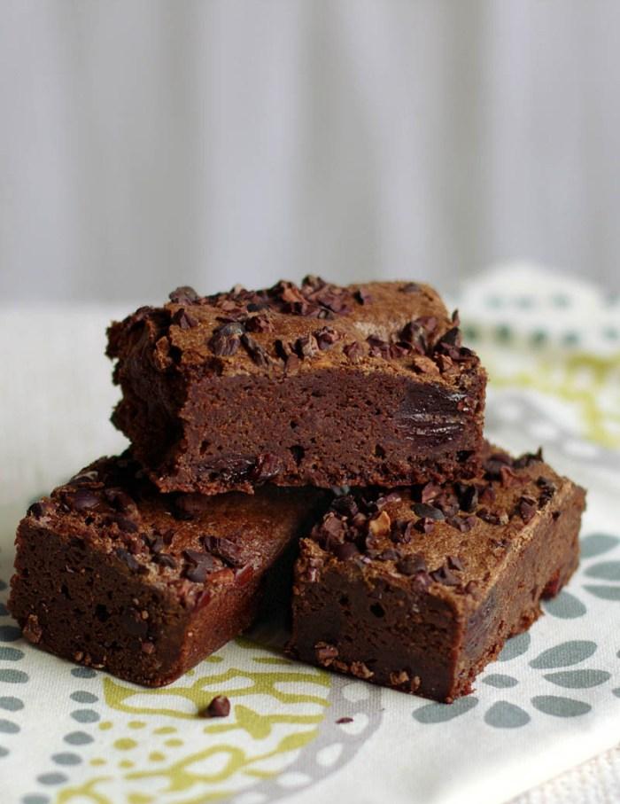 Mexican Chocolate Brownies / JillHough.com