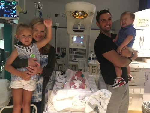 news anchor to homemaker perfect picture nicu family