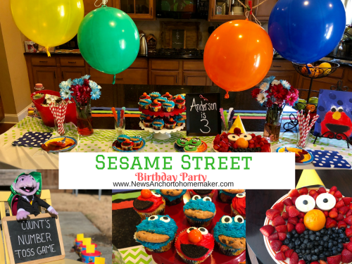 Sesame Street birthday party facebook (1)