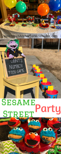 Sesame Street birthday party pin1