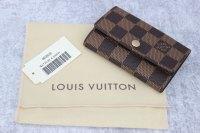 Louis Vuitton Damier Ebene Multicles 6 Key Holder at Jill ...