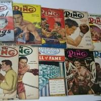洋書ボクシング「THE RING」50年代 神保町ヴィンテージ3