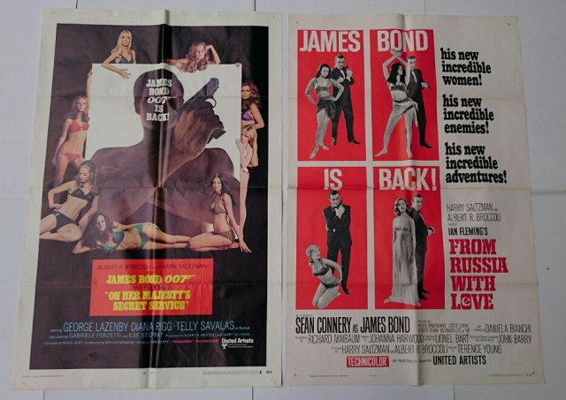 007 ジェームズ・ボンド USA版ポスター 神保町ヴィンテージ2