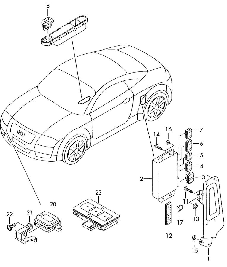 audi tt heated seat wiring diagram