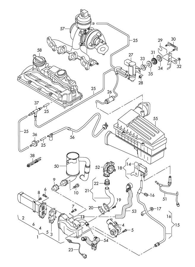 2008 audi a3 parts diagram