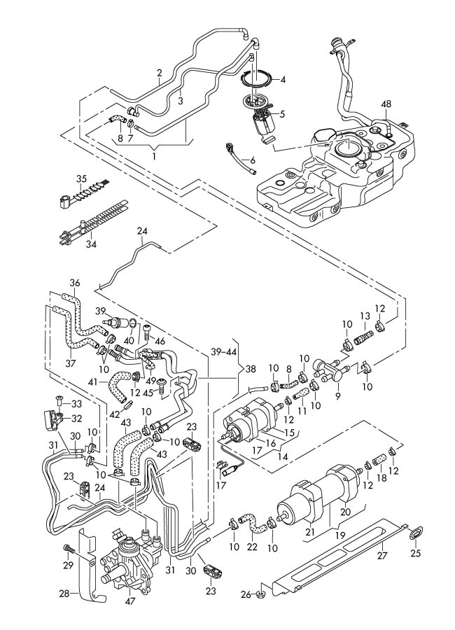 audi a6 2008 fuse box diagram