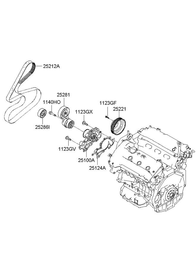 diagram of 2006 hyundai sonata 3 3l auto parts diagrams
