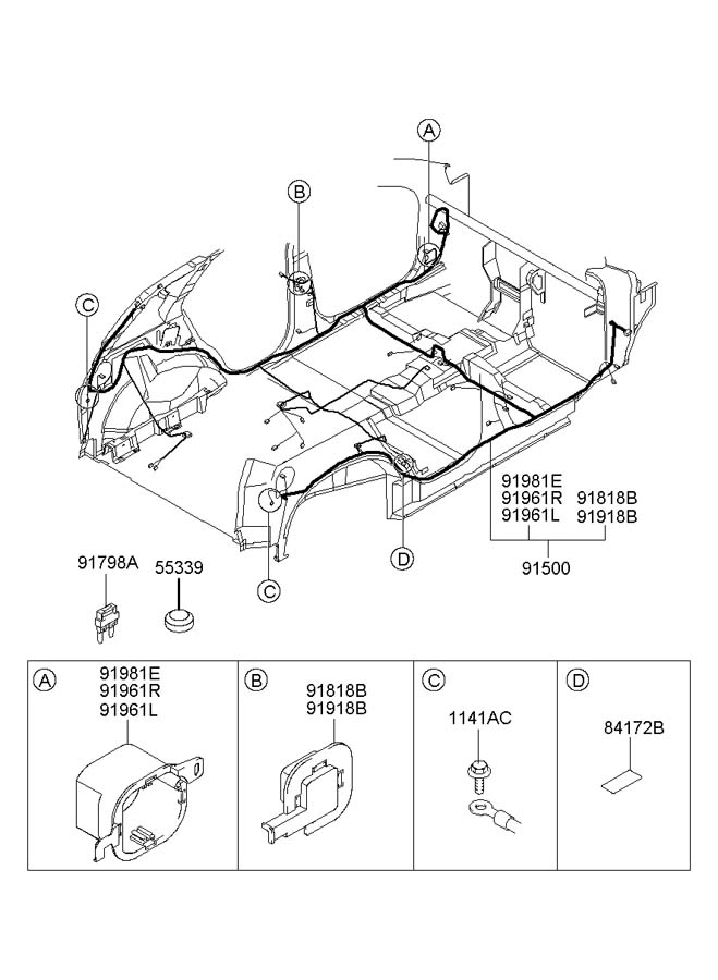 2005 hyundai santa fe wire diagram