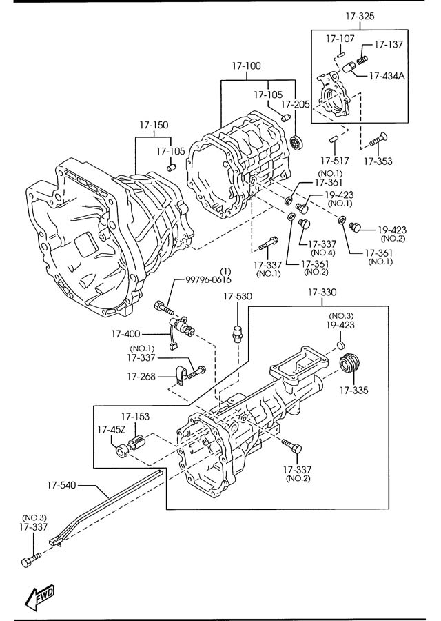 1996 mazda 626 lights wiring diagram