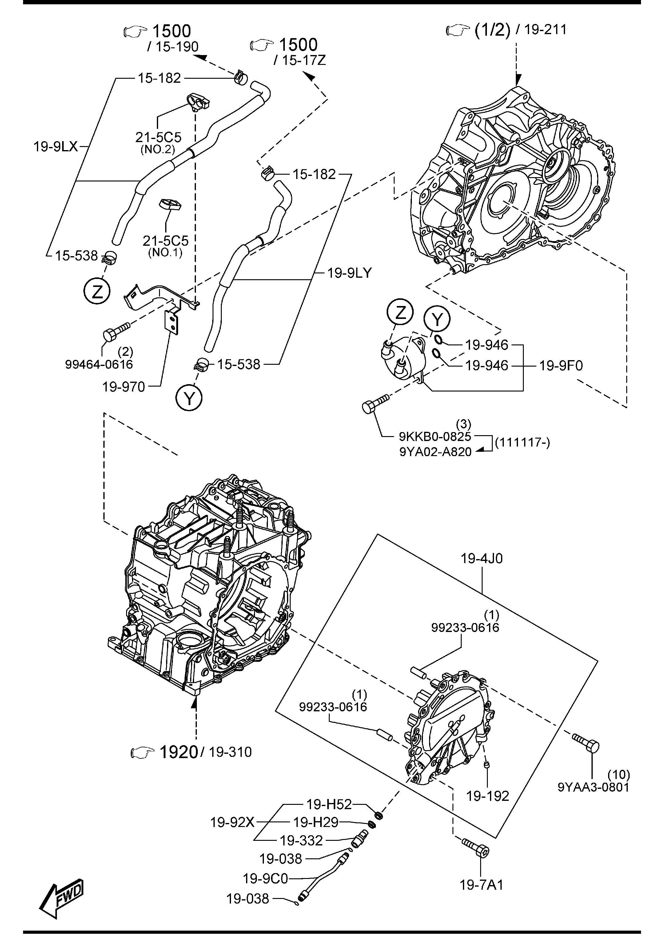 2002 mazda protege 4cyl fuse box diagram