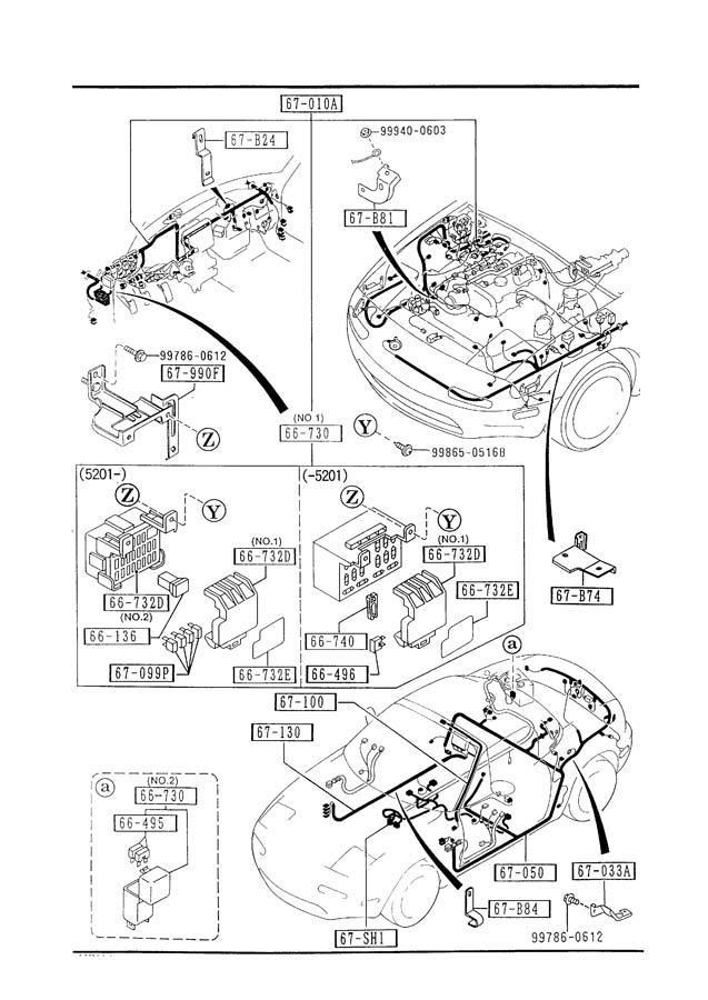 1992 mazda miata wiring diagram