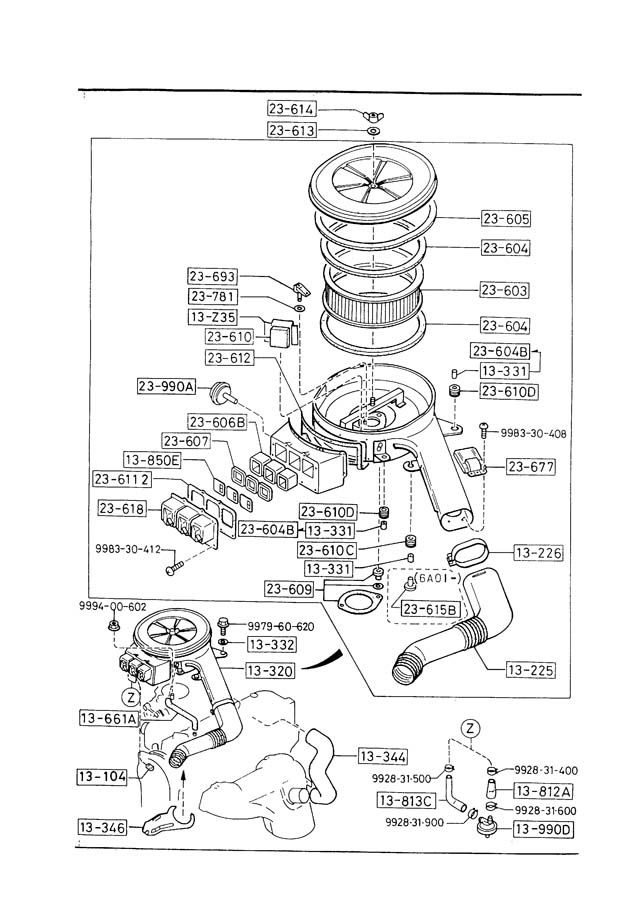 87 mazda b2200 wiring diagram
