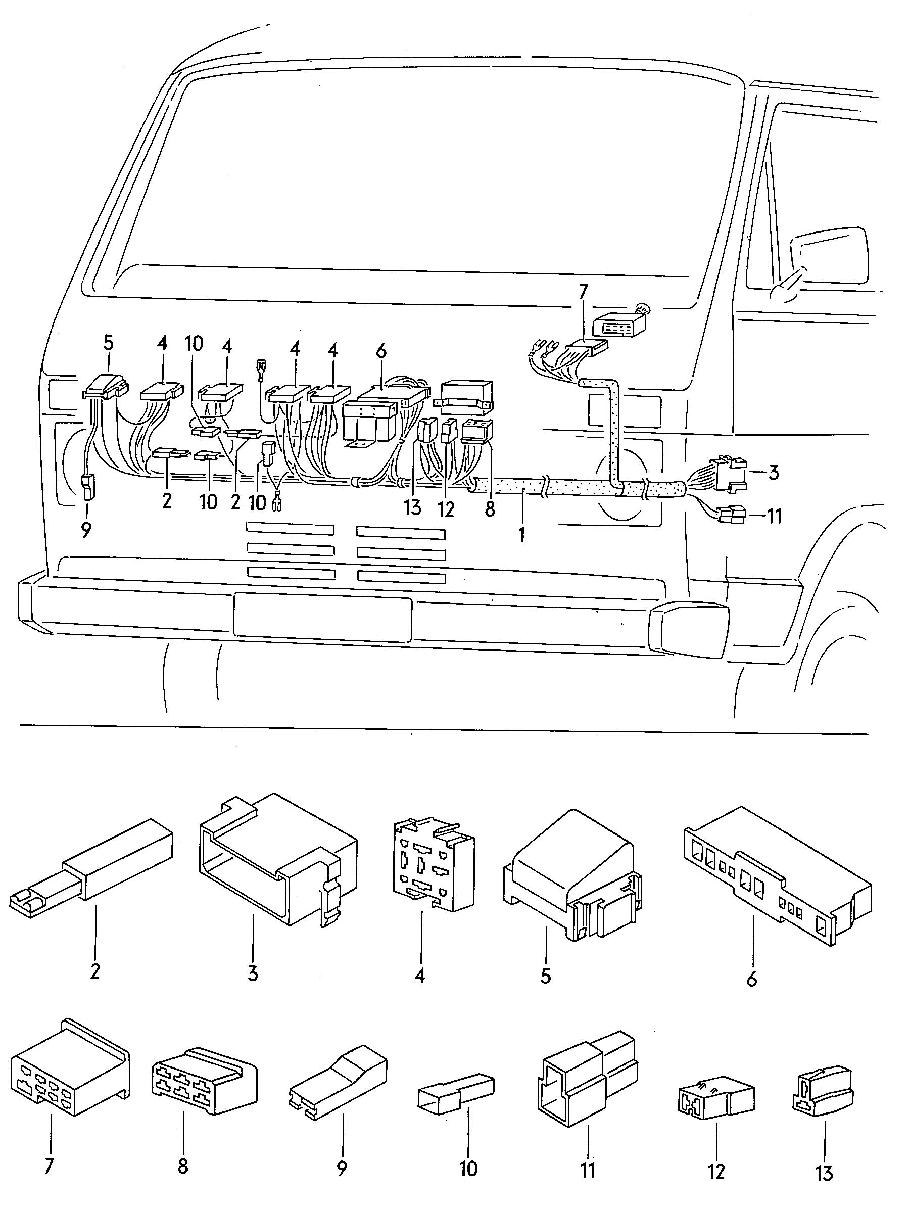 94 ford probe fuse box diagram