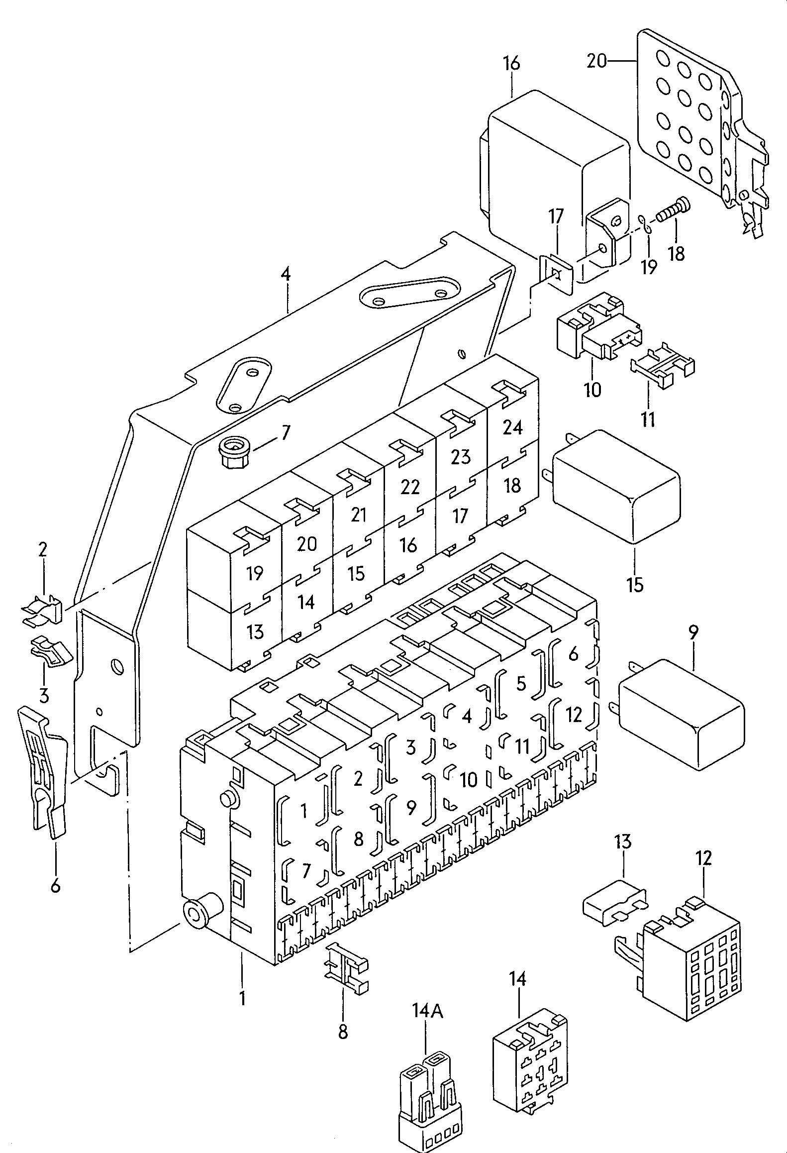 2013 jetta sportwagen fuse box