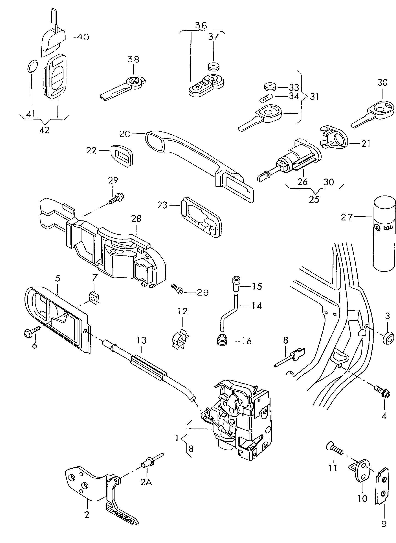 door wiring harness problem 2006 vw jetta