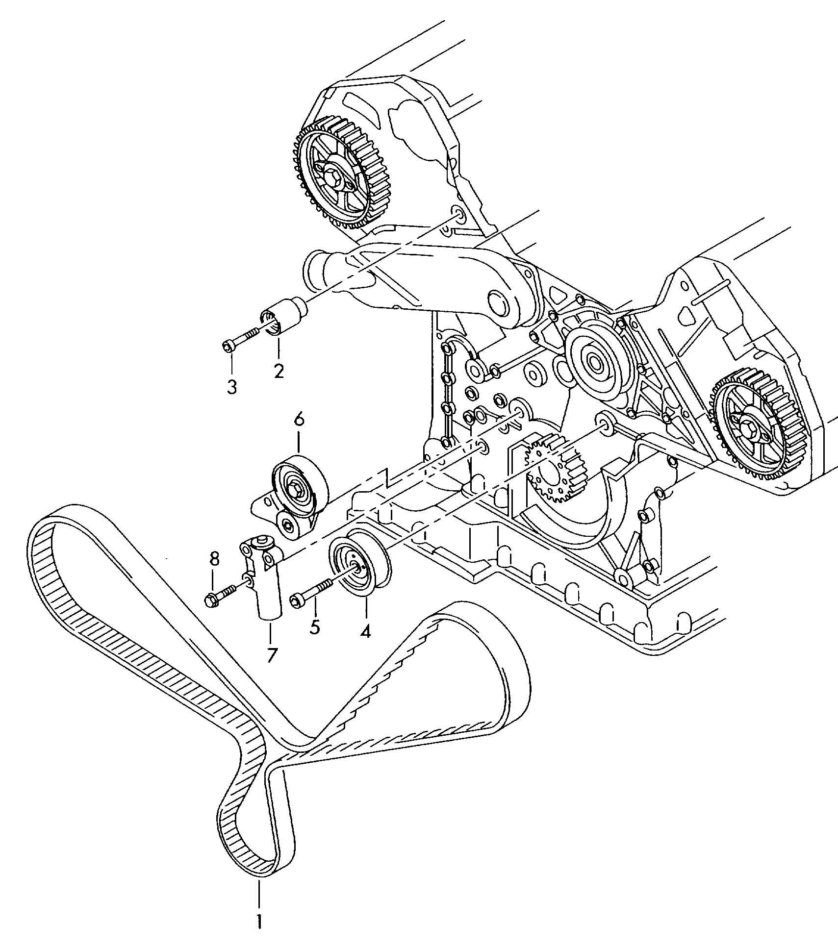 tiguan motordiagramm
