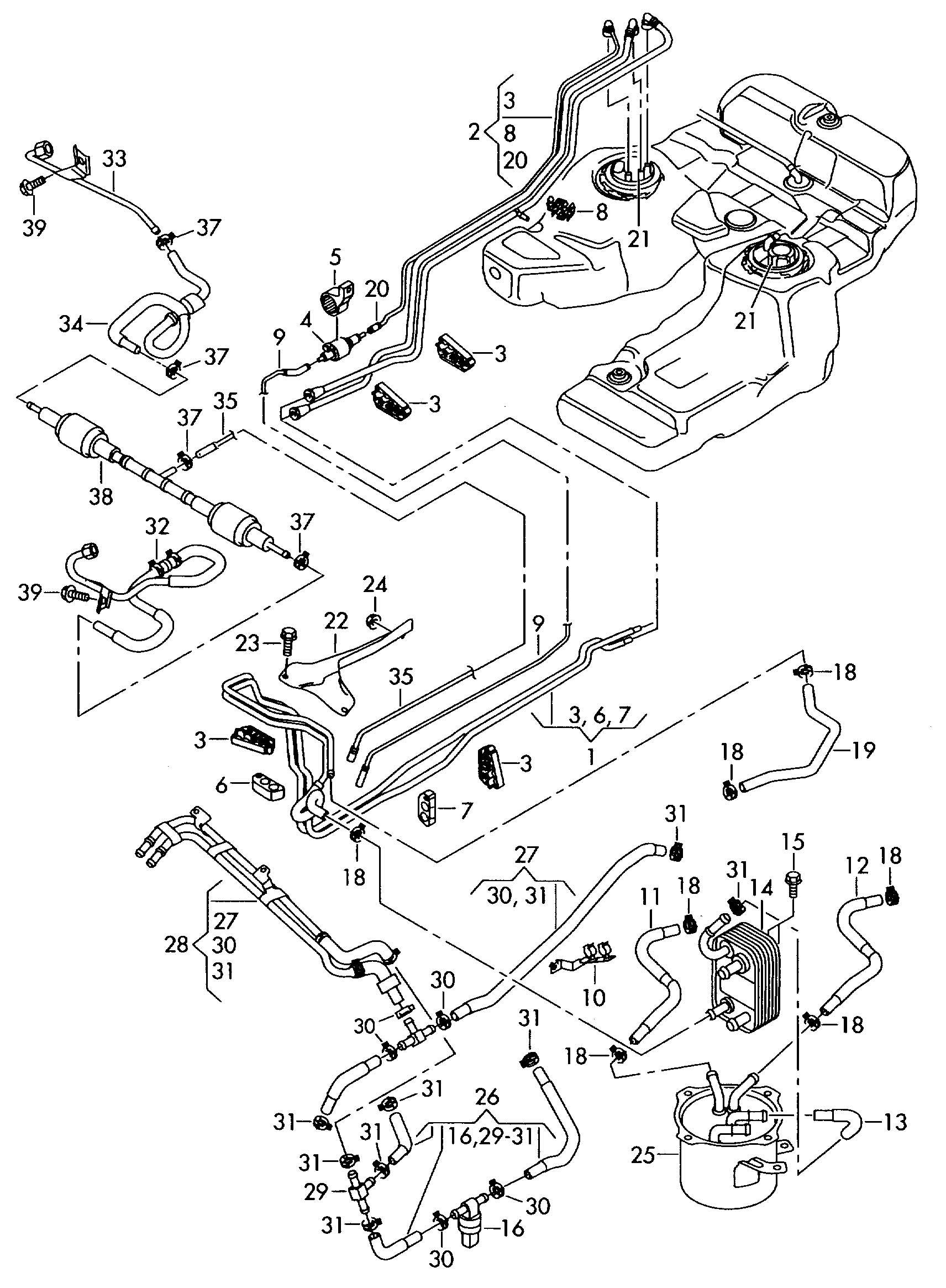 cabriolet fuel filter