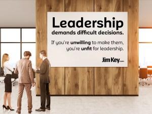 Demands of Leadership