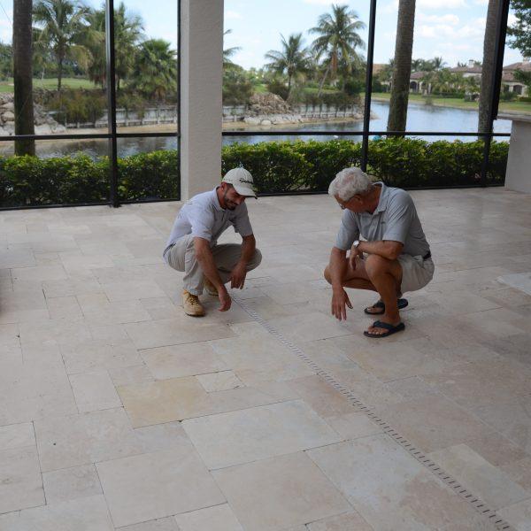 Naples Sand Set Pavers | Jim Lytell Marble And Stone Restoration
