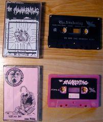 Top: S/t Demo Cassette, Bot: Eternal Blizzard Japan Only cassette