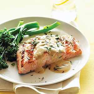 Grilled Salmon with Holy Smoke!