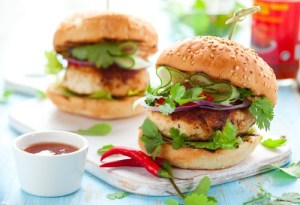 Holy Smoke Chicken Burger