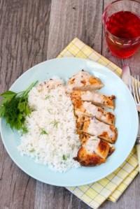 Creamy Dill Chicken & Rice