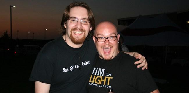 Lowell Olcott and Jim from JimOnLight.com