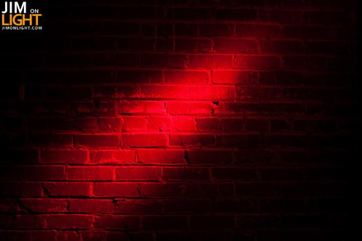 wall accent - RED