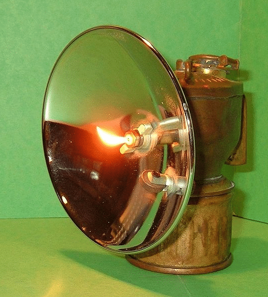 carbide-lamp