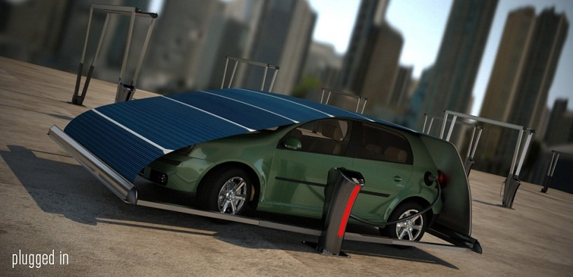 hakan-gursu-v-tent-solar-car-charger-plugged-in