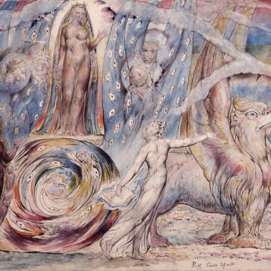 William Blake, Beatrice Addressing Dante from the Car, 1824–7